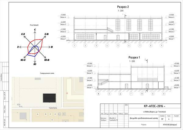 Поиск Клуб студентов Технарь  Курсовая работа по архитектуре Общественное здание