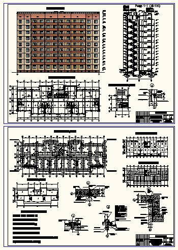 Проект 1-секційного 9-ти