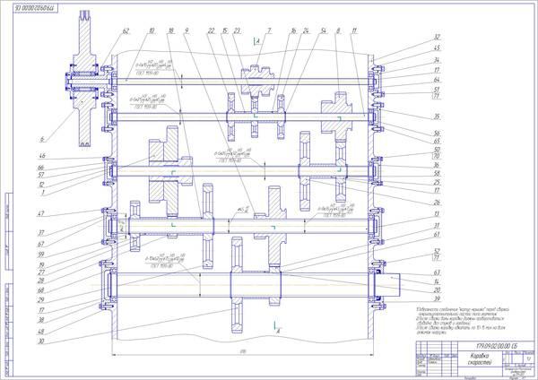 подач станка модели 16Д25