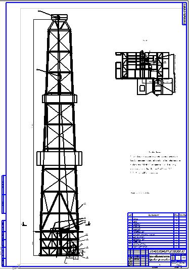 Спуско подъемный комплекс буровой Вышки установки Чертеж  Спуско подъемный комплекс буровой Вышки установки Чертеж Оборудование для бурения нефтяных