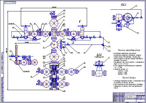 Курсовая работа фонтанная арматура 6813