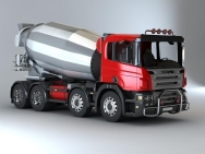 Автобетоносмесители Scania concrete