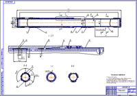 Подвеска клиновая гидравлическая Чертеж Оборудование для бурения  Подвеска клиновая гидравлическая Чертеж Оборудование для бурения нефтяных и газовых скважин Курсовая работа