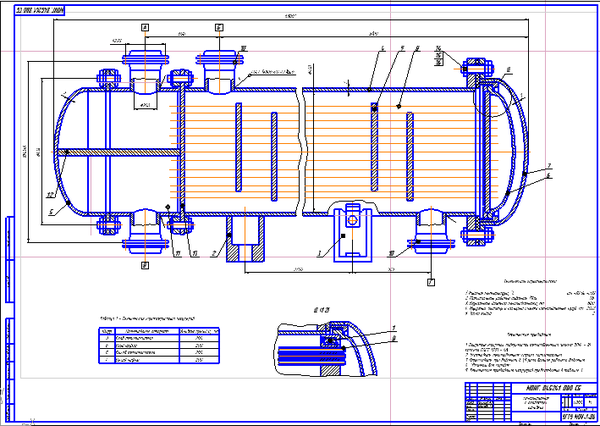 Теплообменники с плавающей головкой конструкция Кожухотрубный испаритель ONDA HPE 655 Гатчина