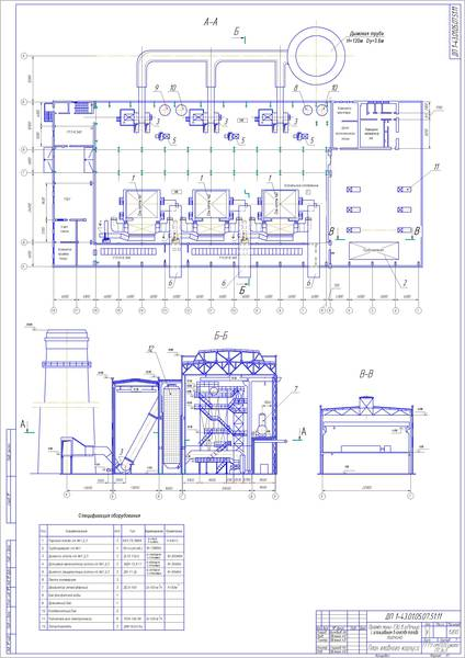 Дипломный проект мини тэц 9301