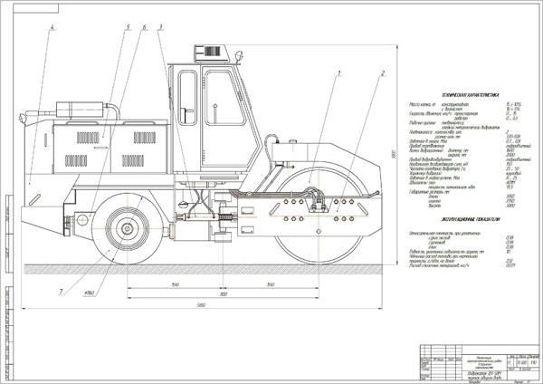 Модернизация виброкатка ДУ-58.