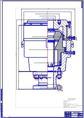 Все работы студента Клуб студентов Технарь  ПУ1 230х36 Чертеж Оборудование для бурения нефтяных и газовых скважин Курсовая работа