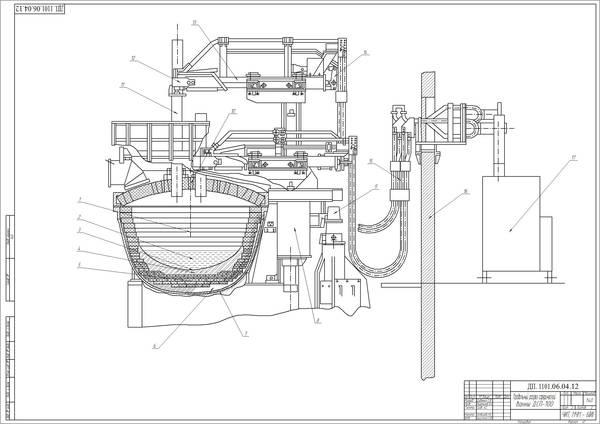 Проект ДСП-100 с комплексной