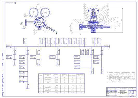 Компас инструмент режущий чертежи