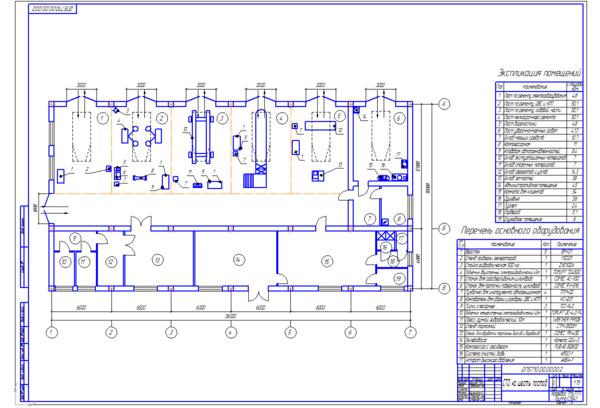 Дипломный проект на тему Проектирование Универсальной станции  Дипломный проект на тему Проектирование Универсальной станции технического обслуживания на шесть рабочих постов в г