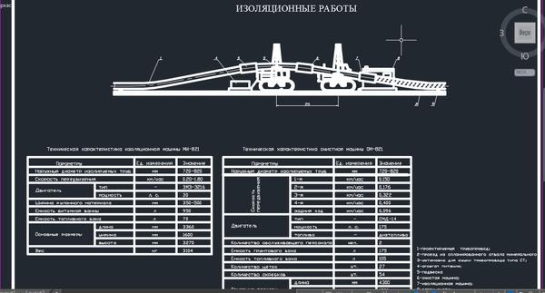 ИЗОЛЯЦИОННЫЕ РАБОТЫ трубопровода Чертеж Оборудование транспорта и  ИЗОЛЯЦИОННЫЕ РАБОТЫ трубопровода Чертеж Оборудование транспорта и хранения нефти и газа Курсовая работа