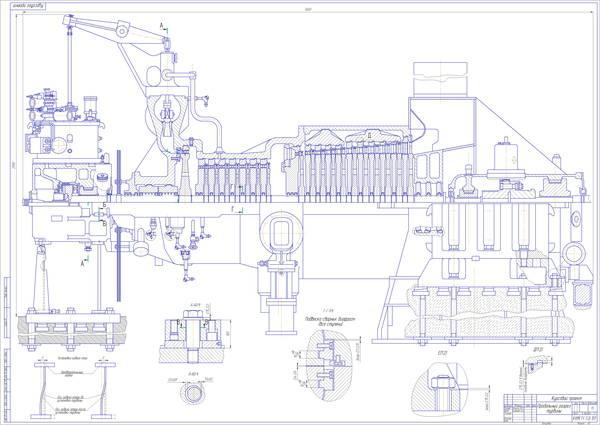 Турбина К-200-120 ЦНД
