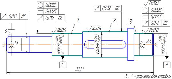 Разработка технологического процесса изготовления вала Работа   Разработка технологического процесса изготовления вала