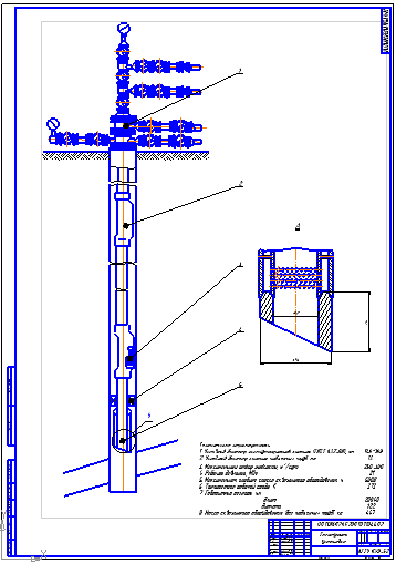 Оборудование для эксплуатации обводнённых газоконденсатных скважин  Оборудование для эксплуатации обводнённых газоконденсатных скважин газлифтным способом на Астраханском газоконденсатном месторождение