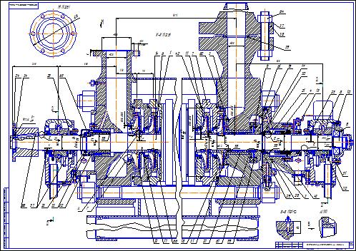 Поиск Клуб студентов Технарь  Насос ЦНС 90 1100 Разрез А1 2 Чертеж Оборудование для