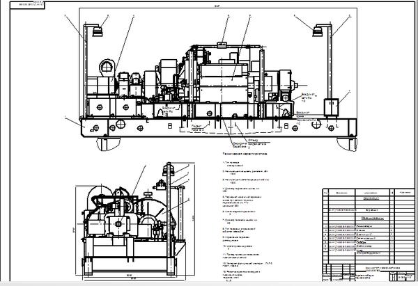 распределение электропитание регуляторов на буровой установке