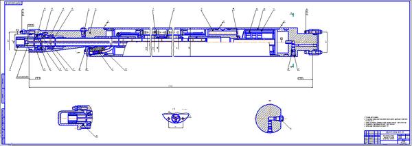 Электродвигатель ПЭД ЛГВ Электроцентробежного насоса УЭЦН  Электродвигатель ПЭД 32 117 ЛГВ5 Электроцентробежного насоса УЭЦН Чертеж Оборудование для добычи и подготовки