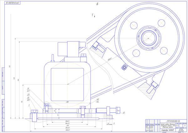 Дипломная работа Модернизация главного привода токарного станка с  Все разделы Металлорежущие станки