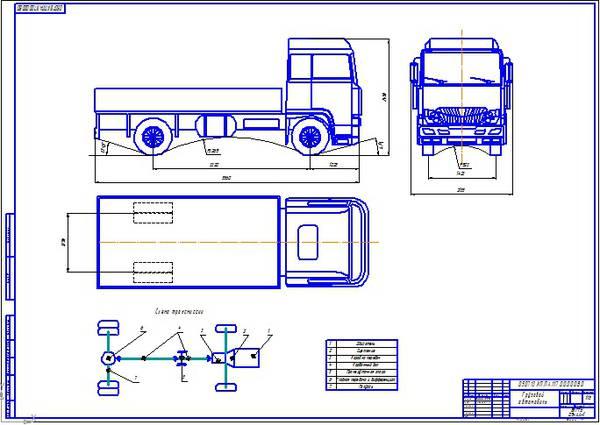 Проектирование грузового