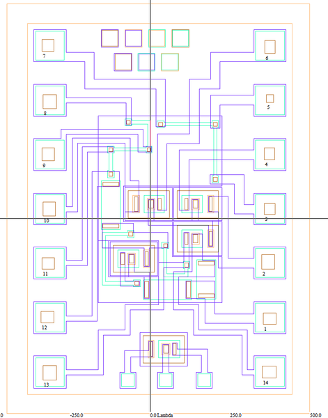 Разработка топологии