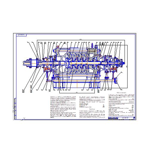 Модернизация конструкции роторного уплотнения насоса НМ  Модернизация конструкции роторного уплотнения насоса НМ 360 460 Курсовая работа Оборудование для добычи